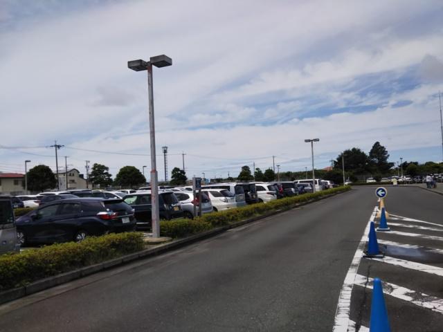 エアパークの駐車場の画像