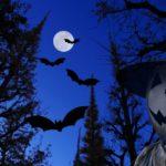 ハロウィン コウモリ切り絵の作り方 型紙を使えば簡単に作れます!