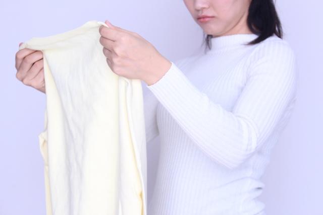 衣替えの黄ばみを防止する洗濯の方法 シミにならない洗剤や柔軟剤は?