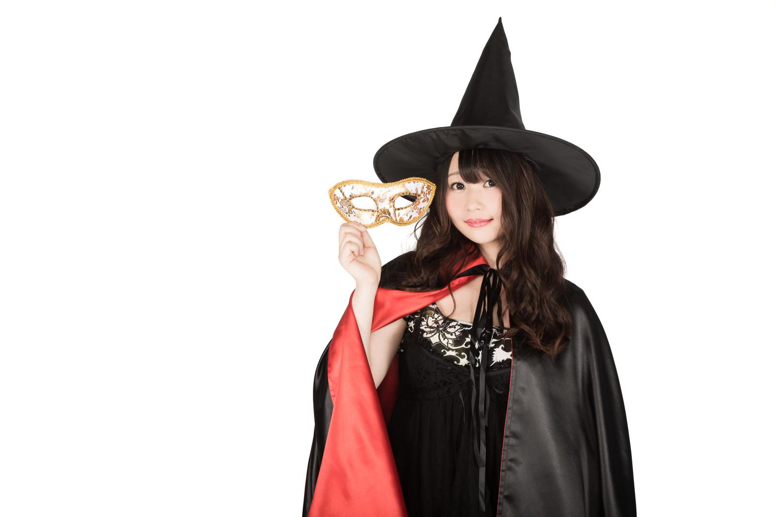 ハロウィン魔女のマント手作り 大人用の簡単な作り方