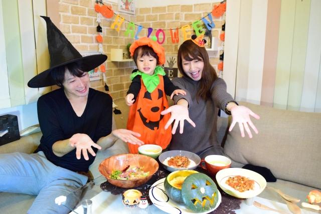 ハロウィンのご飯 簡単で子供が喜ぶ献立の組み合わせを紹介!