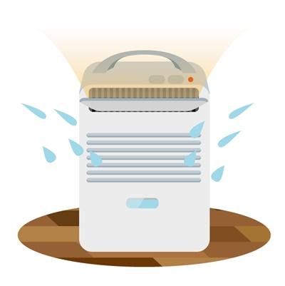 除湿機で洗濯物が乾かない原因は?早く乾かす方法はある?