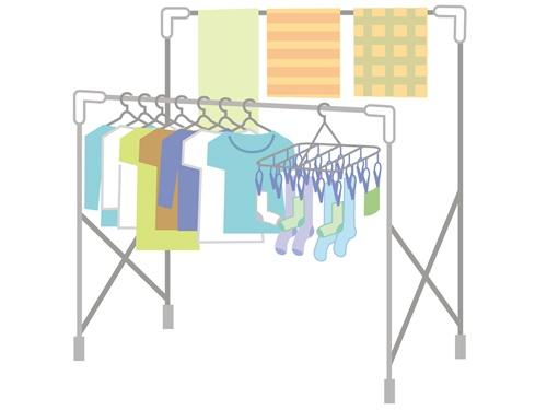 エアコンのドライをつかっても洗濯物が乾かない時の対処法